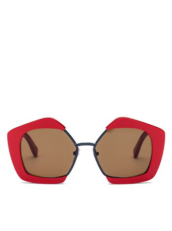 Marni MARNI EDGE glasses in acetate and metal Woman