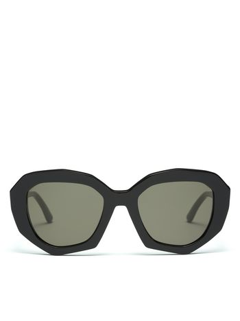 Marni Marni Ghost Sunglasses in acetate contrasting temples Woman