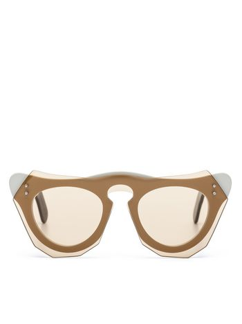 Marni Marni Cut Out Acetate glasses with screwed in bar  Woman
