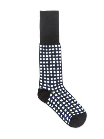 Marni Socks in jacquard gingham cotton Ames Woman