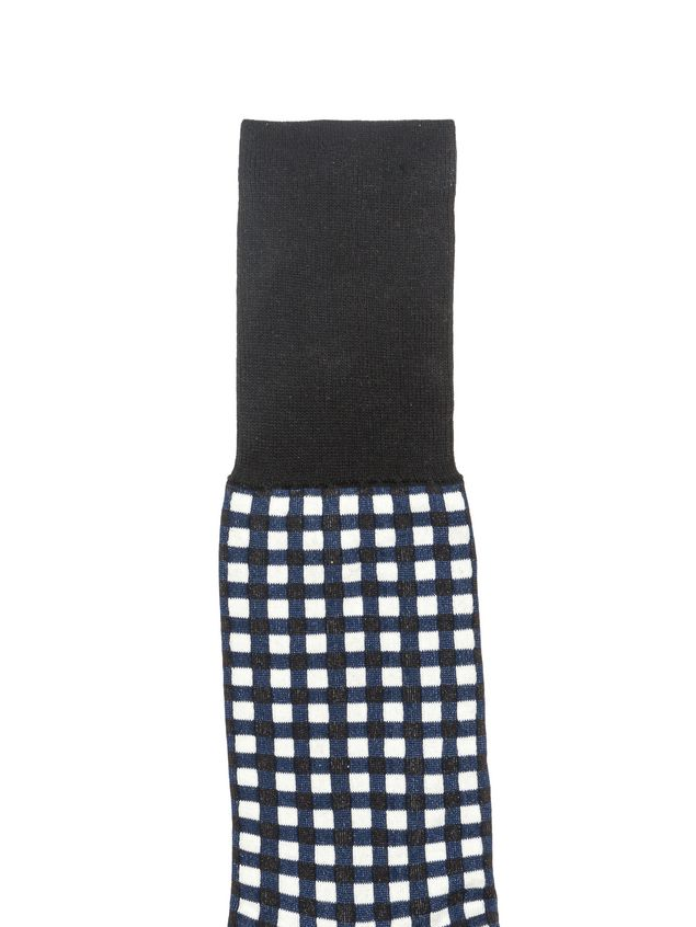Marni Socks in jacquard gingham cotton Ames Woman - 2