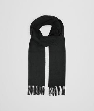 ブラック カシミア スカーフ