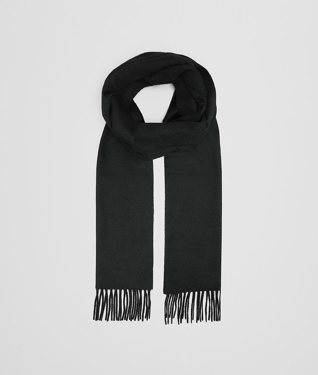 BOTTEGA VENETA SCARF IN BLACK CASHMERE Scarf or other D fp
