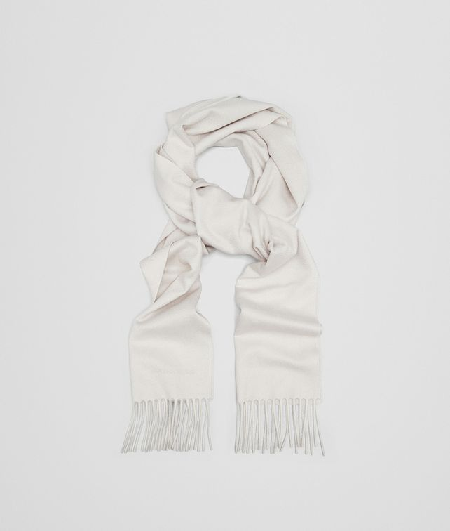 BOTTEGA VENETA SCARF IN CREAM CASHMERE Scarf Woman fp