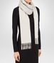 BOTTEGA VENETA SCARF IN CREAM CASHMERE Scarf Woman ap
