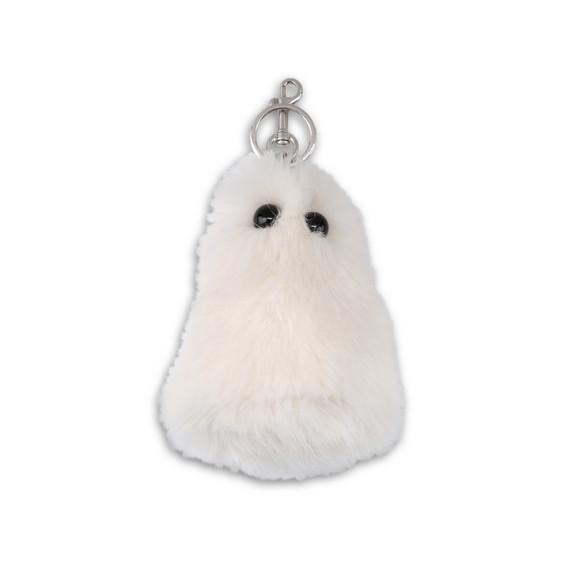 Ghost Fur Free Fur Keychain