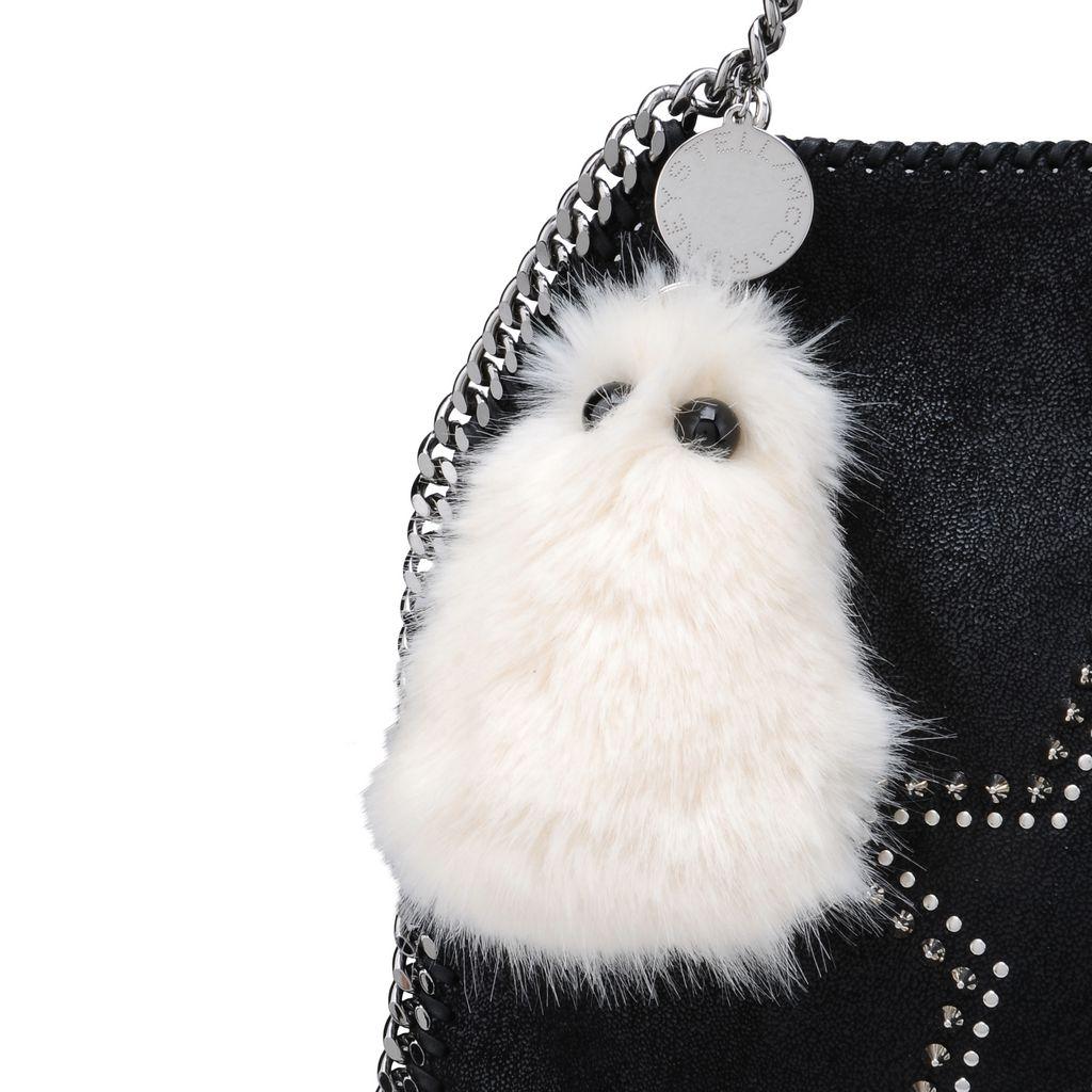 Ghost Fur Free Fur Keychain   - STELLA MCCARTNEY