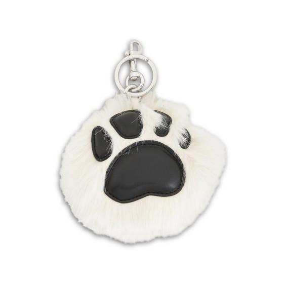Paw Fur Free Fur Keychain