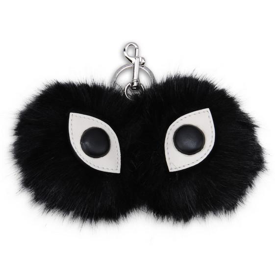 Eyes Fur Free Fur Keychain