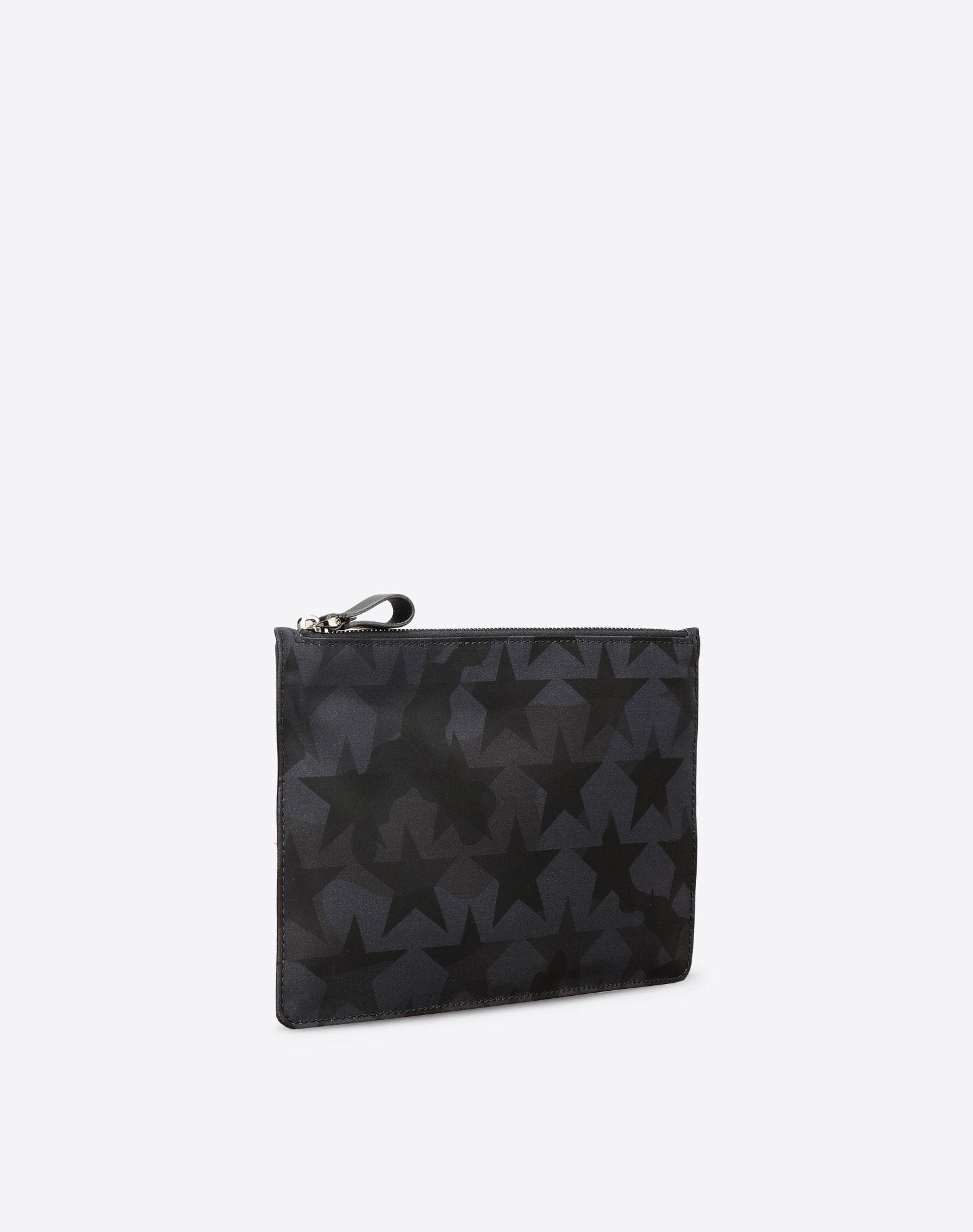 VALENTINO Techno fabric Internal pocket Zip closure  46475007su