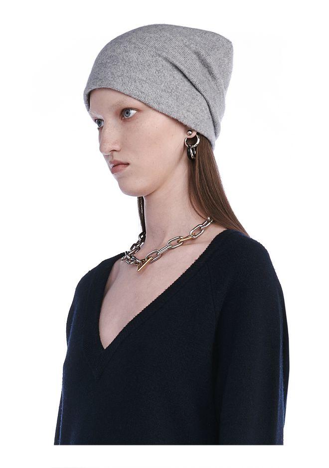 T by ALEXANDER WANG knitwear-t-by-alexander-wang-woman CASHWOOL JERSEY BEANIE