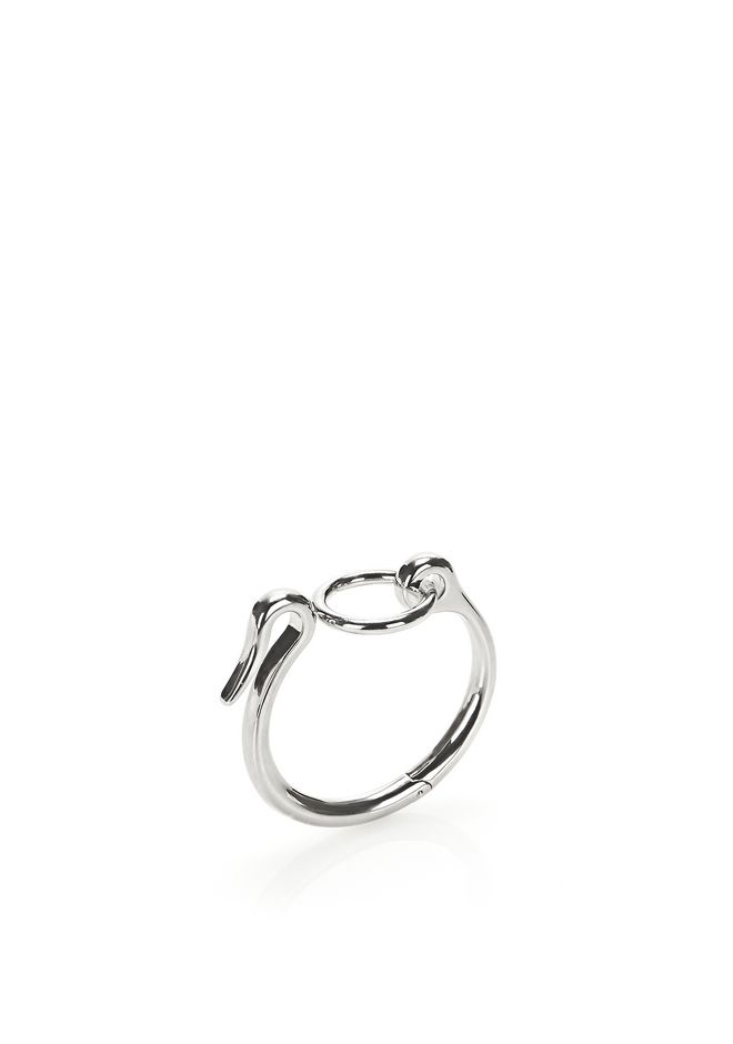 ALEXANDER WANG Accessories RHODIUM HOOK CUFF BRACELET