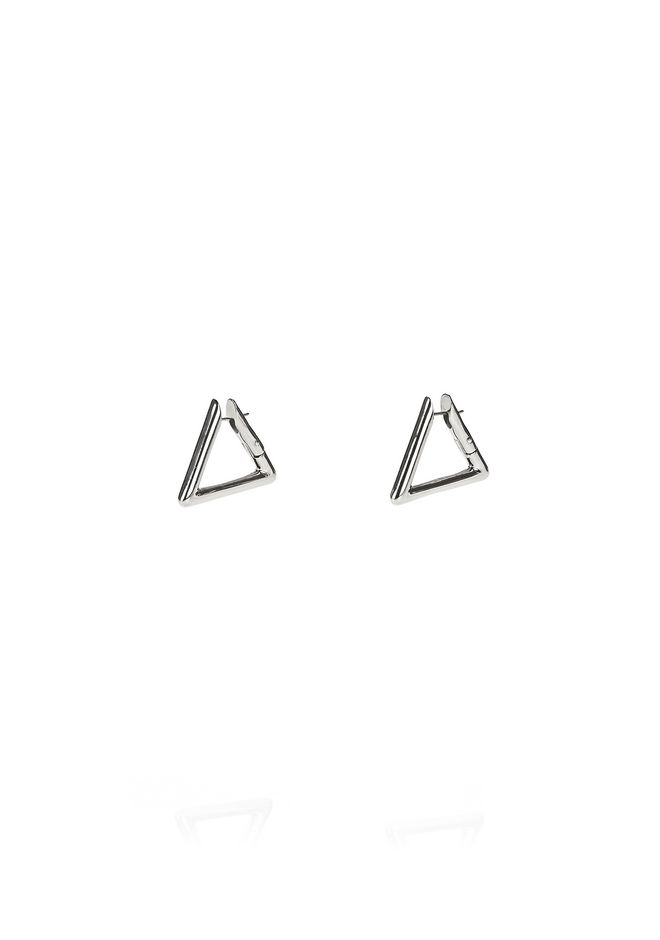 ALEXANDER WANG jewelry TRIANGLE LINK EARRINGS