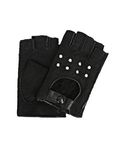 KARL LAGERFELD K/Shearling Fingerless Gloves 8_f