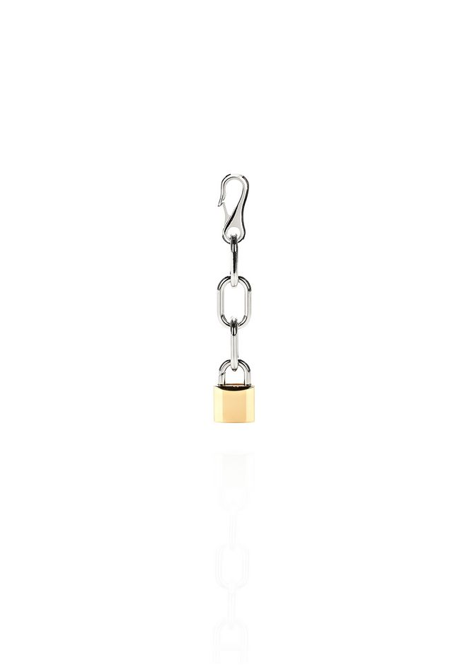 ALEXANDER WANG new-arrivals-accessories-woman PADLOCK CLIP CHARM