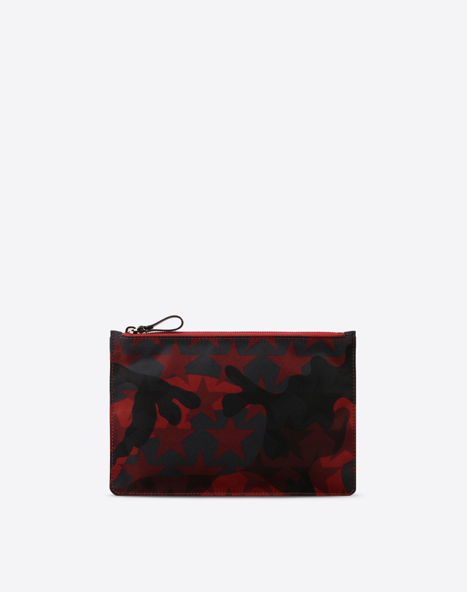 VALENTINO Techno fabric Internal pocket Zip closure  46476571ud