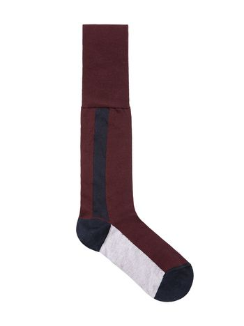 Marni Sock in inlayed cotton Woman