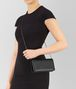 BOTTEGA VENETA CONTINENTAL WALLET IN NERO INTRECCIATO NAPPA Continental Wallet Woman ap