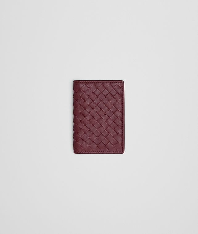 BOTTEGA VENETA CARD CASE IN BAROLO INTRECCIATO VN Card Case or Coin Purse U fp