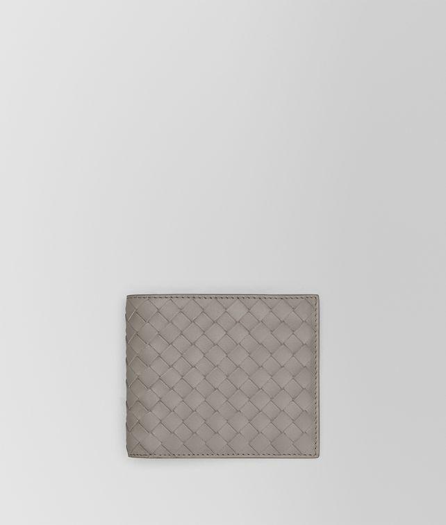 BOTTEGA VENETA BI-FOLD WALLET IN FUME' INTRECCIATO VN Bi-fold Wallet Man fp