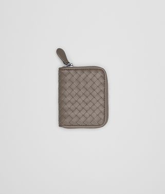 COIN PURSE IN STEEL INTRECCIATO NAPPA