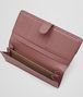 BOTTEGA VENETA CONTINENTAL WALLET IN DUSTY ROSE INTRECCIATO NAPPA Continental Wallet D ap