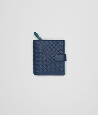 MINI WALLET IN PACIFIC BRIGHTON INTRECCIATO NAPPA