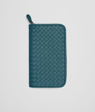ZIP AROUND WALLET IN BRIGHTON INTRECCIATO NAPPA