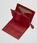BOTTEGA VENETA MINI WALLET IN CHINA RED INTRECCIATO NAPPA Mini Wallet or Coin Purse D lp