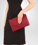 BOTTEGA VENETA DOCUMENT CASE IN CHINA RED INTRECCIATO NAPPA Other Leather Accessory E lp