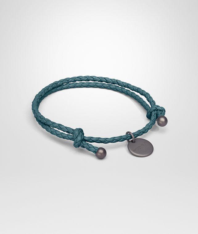 BOTTEGA VENETA BRACELET IN BRIGHTON INTRECCIATO NAPPA Keyring or Bracelets E fp