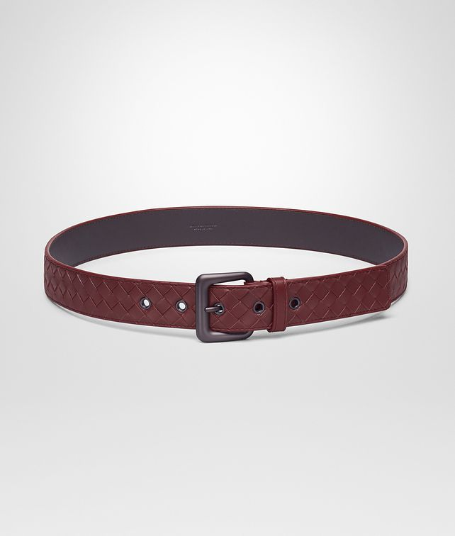 BOTTEGA VENETA BELT IN BAROLO INTRECCIATO VN Belt U fp