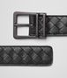BOTTEGA VENETA BELT IN NERO INTRECCIATO CALF Belt U rp