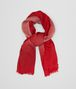 BOTTEGA VENETA SCARF IN OLD ROSE RED WOOL Scarf Woman fp