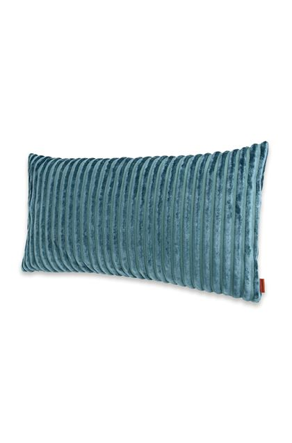 MISSONI HOME RABAT CUSHION Deep jade E - Back