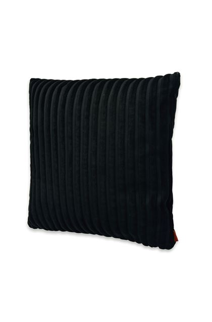 MISSONI HOME RABAT CUSHION Black E - Back
