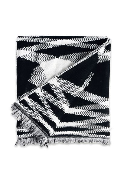 MISSONI HOME SIGMUND THROW  Black E - Back