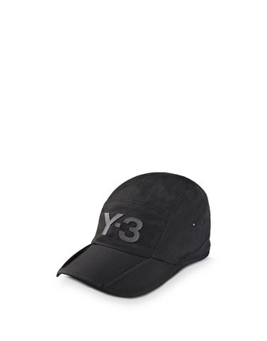 Y-3 BLACK FOLD CAP OTHER ACCESSORIES man Y-3 adidas