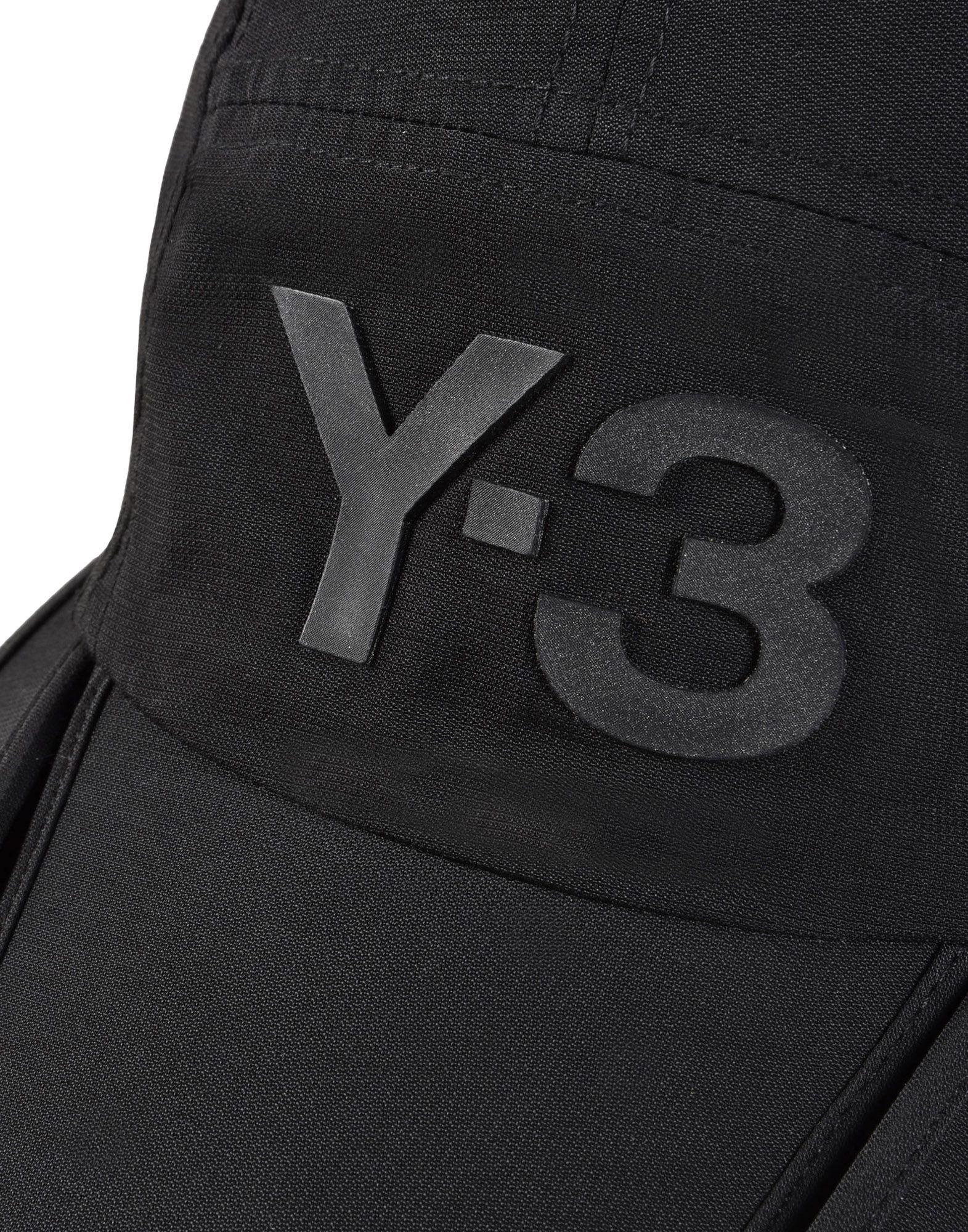 Y-3 BLACK FOLD CAP OTHER ACCESSORIES unisex Y-3 adidas