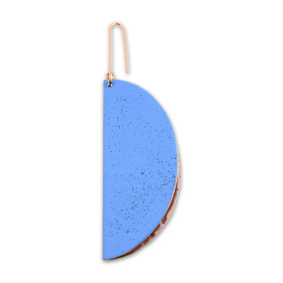 Bluebell suspended shape Earring