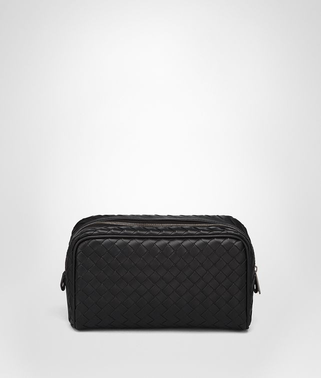 BOTTEGA VENETA TOILETRY CASE IN NERO INTRECCIATO VN Other Leather Accessory U fp