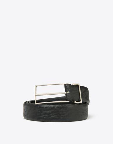 MAISON MARGIELA 11 Belt U Thin printed calfskin belt f