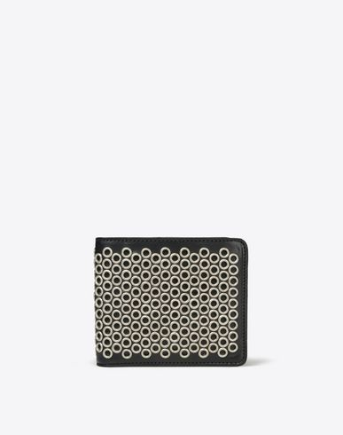MAISON MARGIELA 11 Wallets U Eyelet calskin leather wallet f