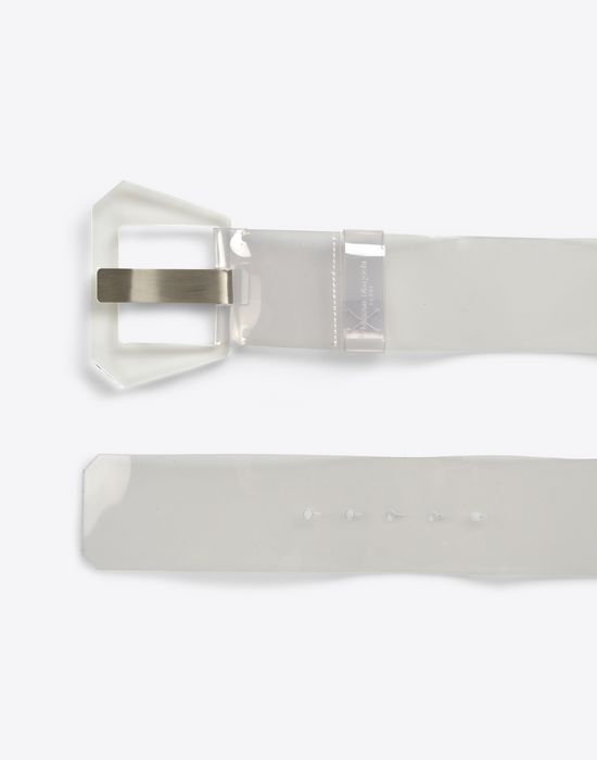 MAISON MARGIELA 11 Transarent high-waisted belt Belt D r