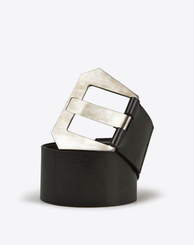 MAISON MARGIELA Calf leather high-waisted belt Belt D f