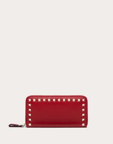 VALENTINO GARAVANI ZIP AROUND WALLETS D Rockstud Wallet f