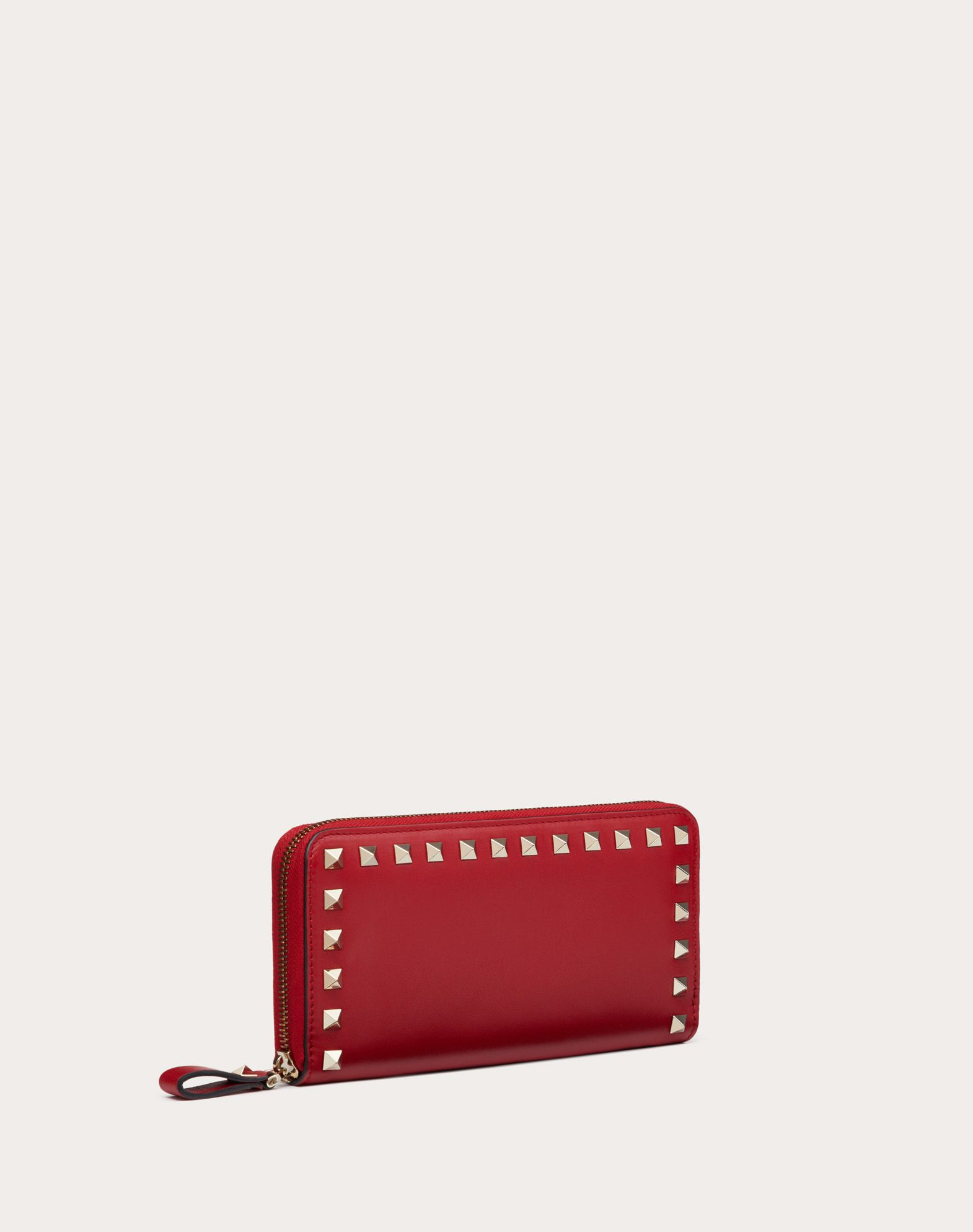 VALENTINO GARAVANI Rockstud Wallet ZIP AROUND WALLETS D e