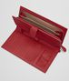 BOTTEGA VENETA DOCUMENT CASE IN CHINA RED INTRECCIATO NAPPA Other Leather Accessory E ap