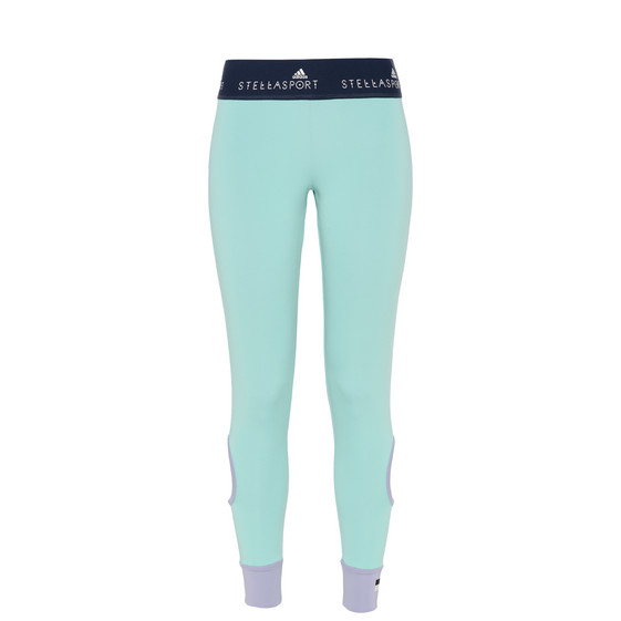 Aqua Cut-out Leggings