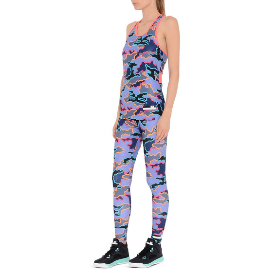 Indigo Camo Leggings